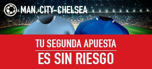 Sportium: Man. City vs. Chelsea. Apuesta y la segunda ¡Sin Riesgo!