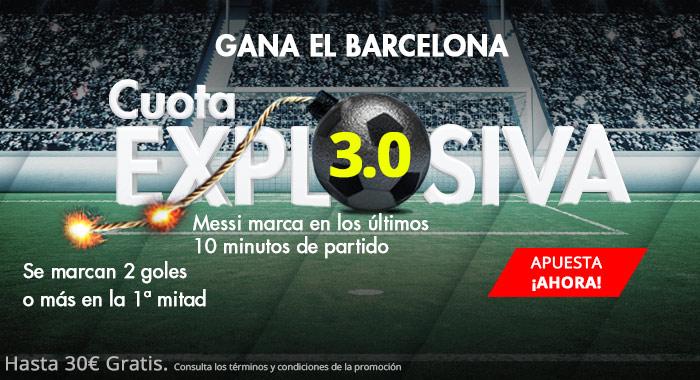 Suertia: Deportivo vs Barça. Cuota EXPLOSIVA (@3.0) para los azulgranas