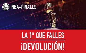 Sportium: NBA Final. Tu primera apuesta ¡Sin riesgo!