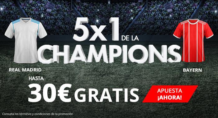 Suertia: Madrid vs. Bayern. Apuesta y llévate hasta 30€ GRATIS