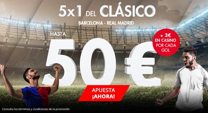 Suertia: Barça vs. Madrid. Apuesta y llévate hasta 50€ GRATIS