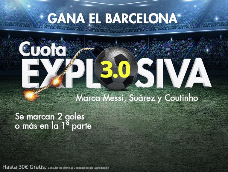 Suertia: Barça vs. Villarreal. Cuota EXPLOSIVA para los azulgranas (@3.0)