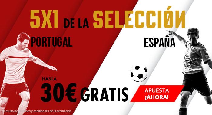 Suertia: Portugal vs. España. Apuesta y llévate hasta 30€ GRATIS