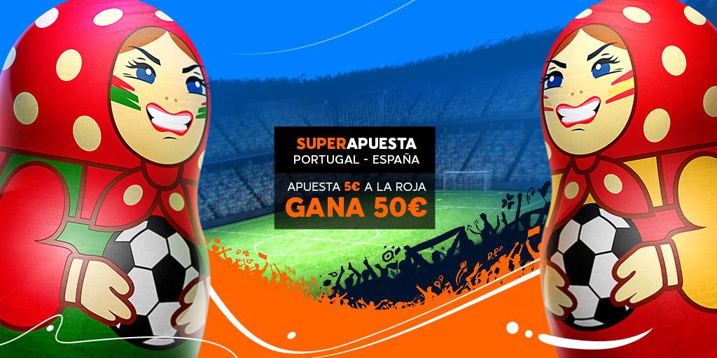 888Sport: Portugal vs. España @10.0