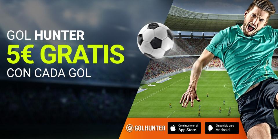 Luckia: Mundial Rusia 2018. Hazte un 'Gol Hunter' y llévate 5€ GRATIS