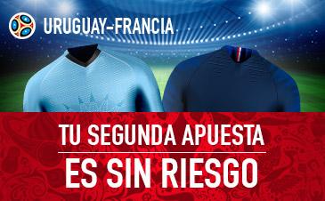 Sportium: Uruguay vs. Francia. Apuesta y la segunda ¡SIN RIESGO!