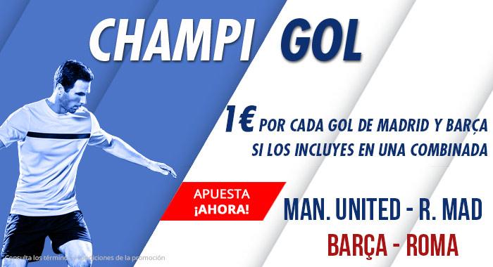 Suertia: International Champions Cup. Combina al Madrid y Barça y llévate 1€ por cada gol