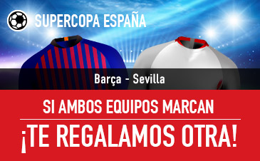 Sportium: Barça vs. Sevilla. Si fallas y ambos marcan… ¡Devolución!