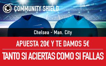 Sportium: Chelsea-Man.City. Apuesta y te damos 5€ ¡¡¡GRATIS!!!