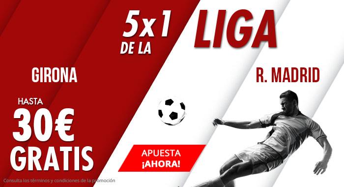 Suertia: Girona vs. R. Madrid. Apuesta y llévate hasta 30€ GRATIS