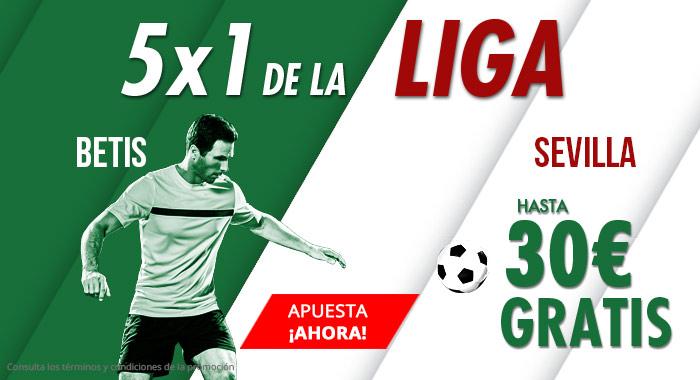 Suertia: Betis vs. Sevilla. Apuesta y llévate hasta 30€ GRATIS