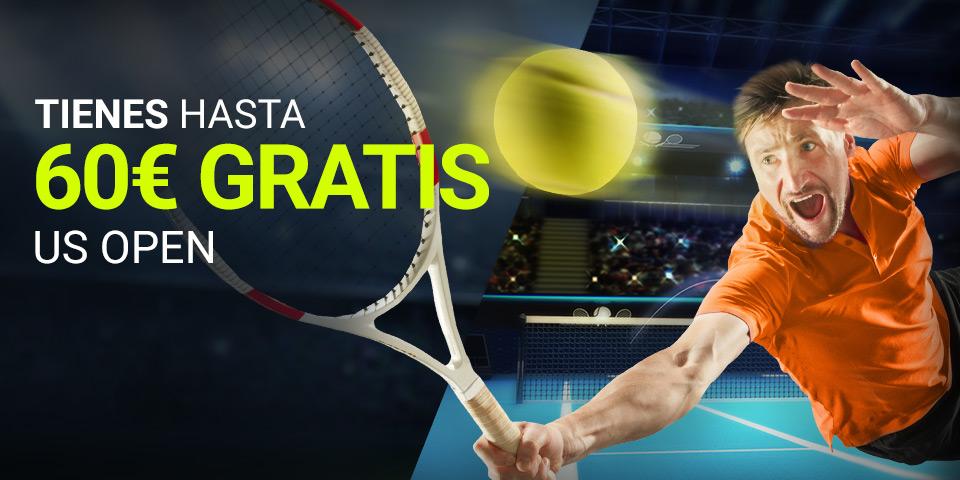 Luckia: US Open. Apuesta y llévate 60€ GRATIS
