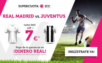 Wanabet: Real Madrid @7.0 vs. Juventus  + 200€