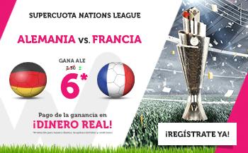 Wanabet: Alemania @6.0 vs. Francia + 200€