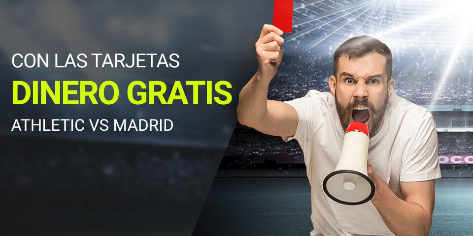 Luckia: Ath. Bilbao vs. Real Madrid. Llévate 15€ gracias al árbitro