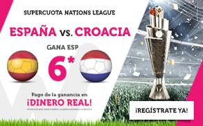 Wanabet: España @6.0 vs. Croacia + 200€