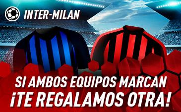 Sportium: Inter vs. Milán. Si ambos marcan… ¡Devolución!