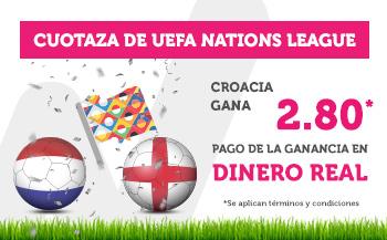 Wanabet: Croacia @2.80 vs. Inglaterra
