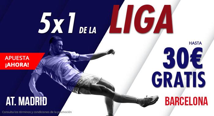 Suertia: At. Madrid vs. Barça. Apuesta y llévate hasta 30€ GRATIS