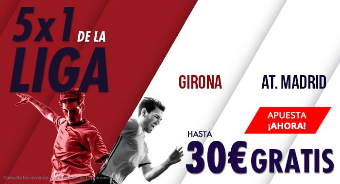 Suertia: Girona vs. At. Madrid. Apuesta y llévate hasta 30€ GRATIS