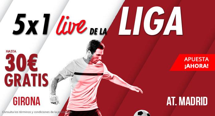 Suertia: Girona  vs. At. Madrid. Llévate hasta 30€ GRATIS apostando en vivo