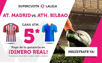 Wanabet: At. Madrid @5.0 vs. Ath. Bilbao + 200€