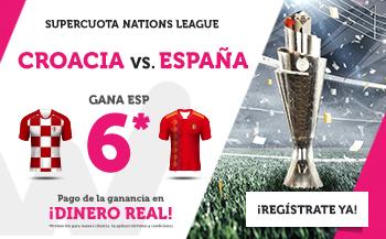 Wanabet: Croacia vs. España @6.0 + 200€