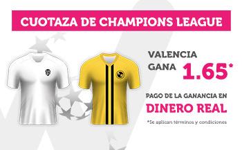 Wanabet:  Valencia @1.65 vs. Young Boys