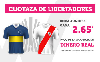 Wanabet: Boca Juniors @2.65 vs. River Plate