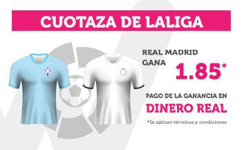 Wanabet: Celta vs. Madrid @1.85