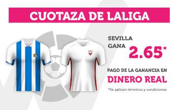 Wanabet: Real Sociedad vs. Sevilla @2.65