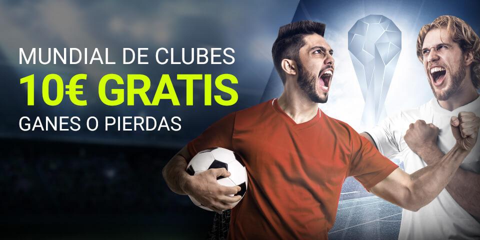 Luckia: Mundialito de Clubes. Llévate 10€ ¡¡¡GRATIS!!!