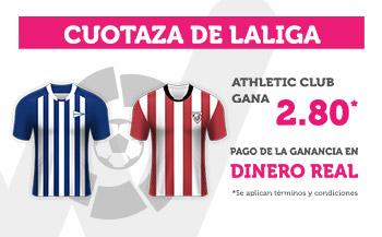 Wanabet: Alavés vs. Ath. Bilbao @2.80