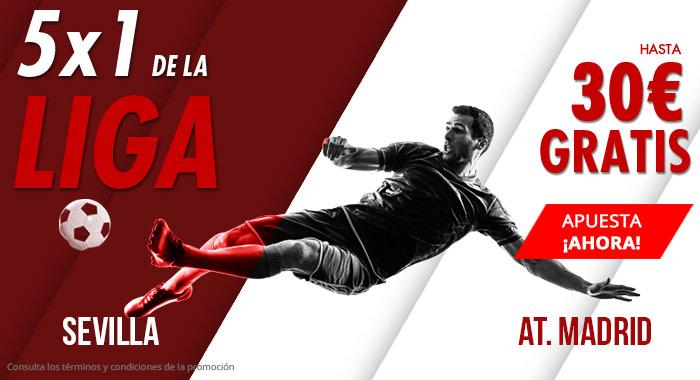 Suertia: Sevilla vs. At. Madrid. Apuesta y llévate hasta 30€ GRATIS