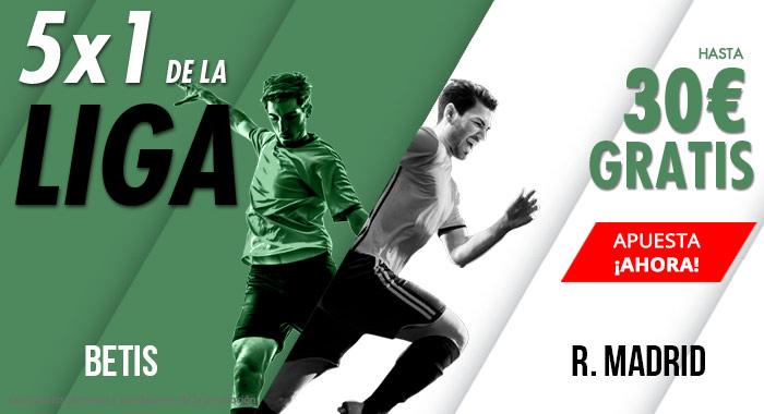 Suertia: Betis vs. R. Madrid. Apuesta y llévate hasta 30€ GRATIS