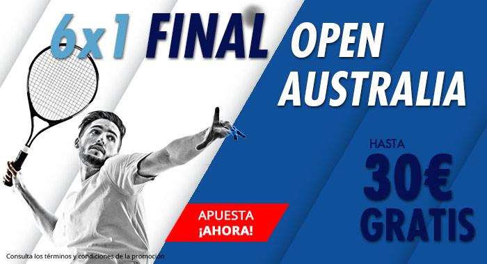 Suertia: Open Australia. Nadal vs. Djokovic. Haz tu apuesta y llévate hasta 30€ GRATIS
