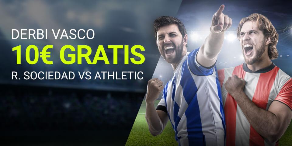 Luckia: Real Sociedad vs. Ath. Bilbao. Apuesta segura