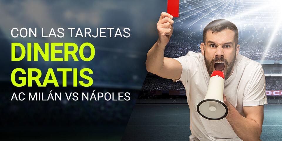 Luckia: Milán vs. Nápoles. Llévate 15€ GRATIS gracias al árbitro