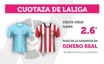 Wanabet:  Celta @2.60 vs. Ath. Bilbao