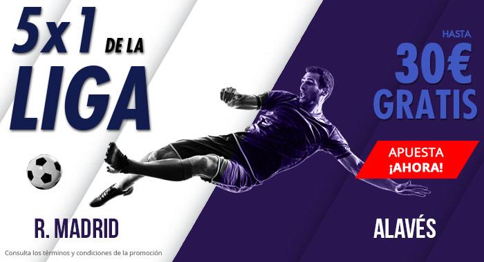 Suertia: Madrid vs. Alavés. Haz tu apuesta y llévate hasta 30€ GRATIS