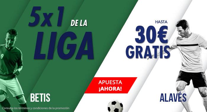 Suertia: Real Betis vs. Alavés. Haz tu apuesta y llévate hasta 30€ GRATIS