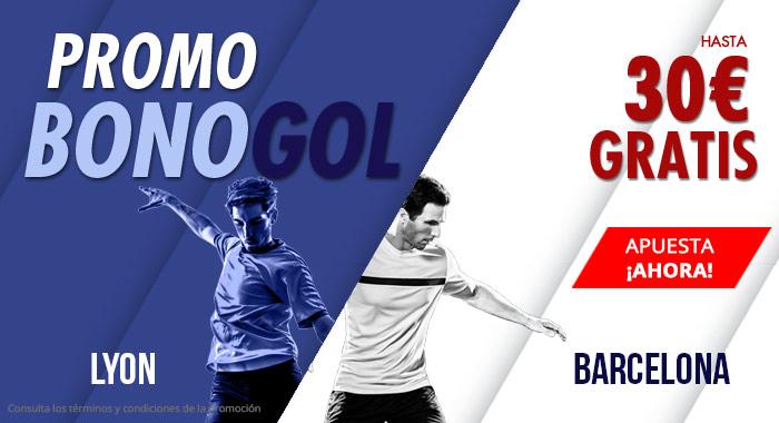 Suertia: Lyon vs. Barça. Haz tu apuesta y llévate hasta 30€ GRATIS