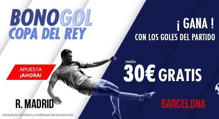 Suertia: Madrid vs. Barça. Haz tu apuesta y llévate hasta 30€ GRATIS