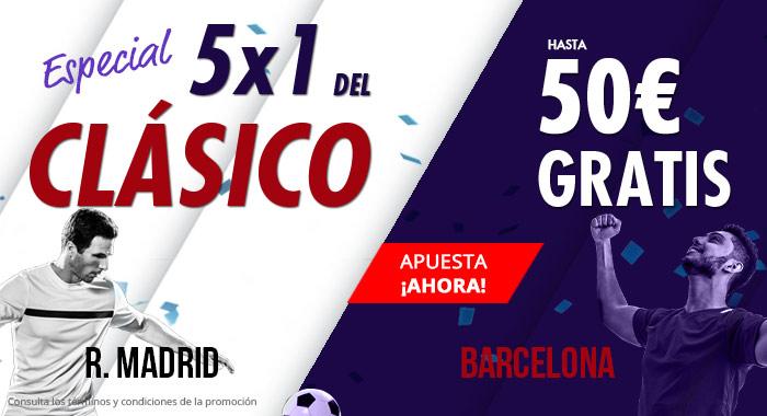 Suertia: Madrid vs. Barça. Haz tu apuesta y llévate hasta 50€ GRATIS