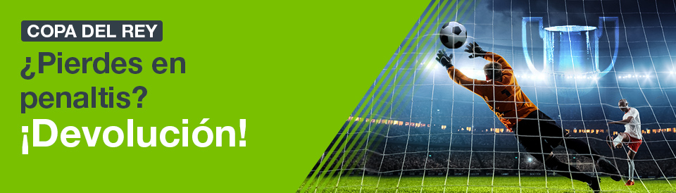 Codere: Si pierdes en los penaltis ¡¡¡DEVOLUCIÓN!!!