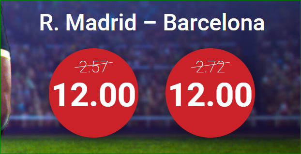 Marathon Bet: SUPERCUOTA Madrid vs. Barça + Bono de Bienvenida