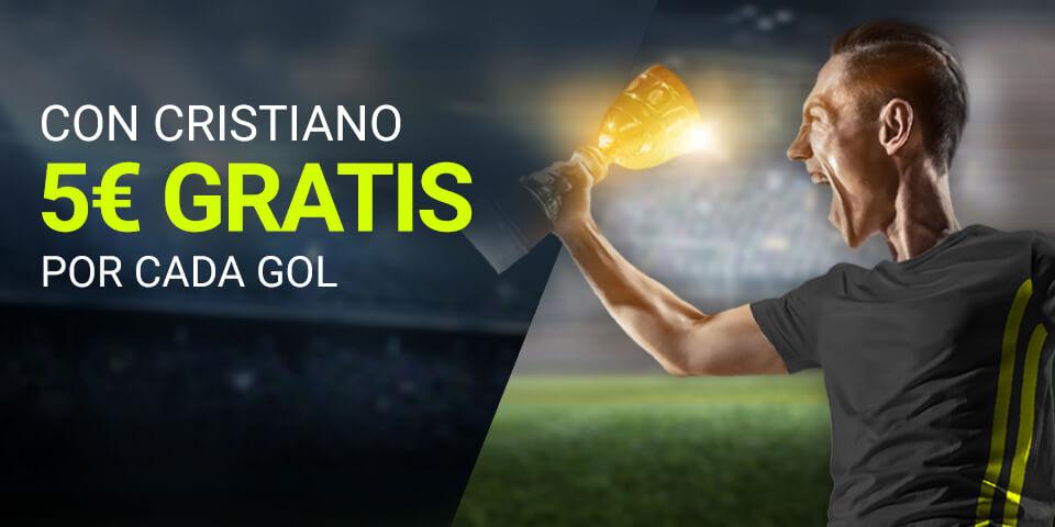Luckia: Nápoles vs. Juventus. 5€ por cada gol de Cristiano