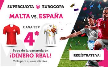 Wanabet: Malta vs. España @4.0 + 200€