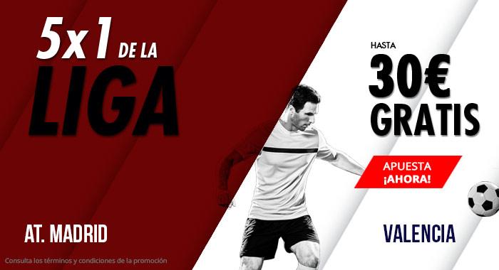 Suertia: At. Madrid vs. Valencia. Haz tu apuesta y llévate hasta 30€ GRATIS