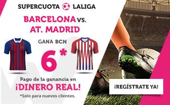 Wanabet: Barça @6.0 vs. At Madrid + 200€
